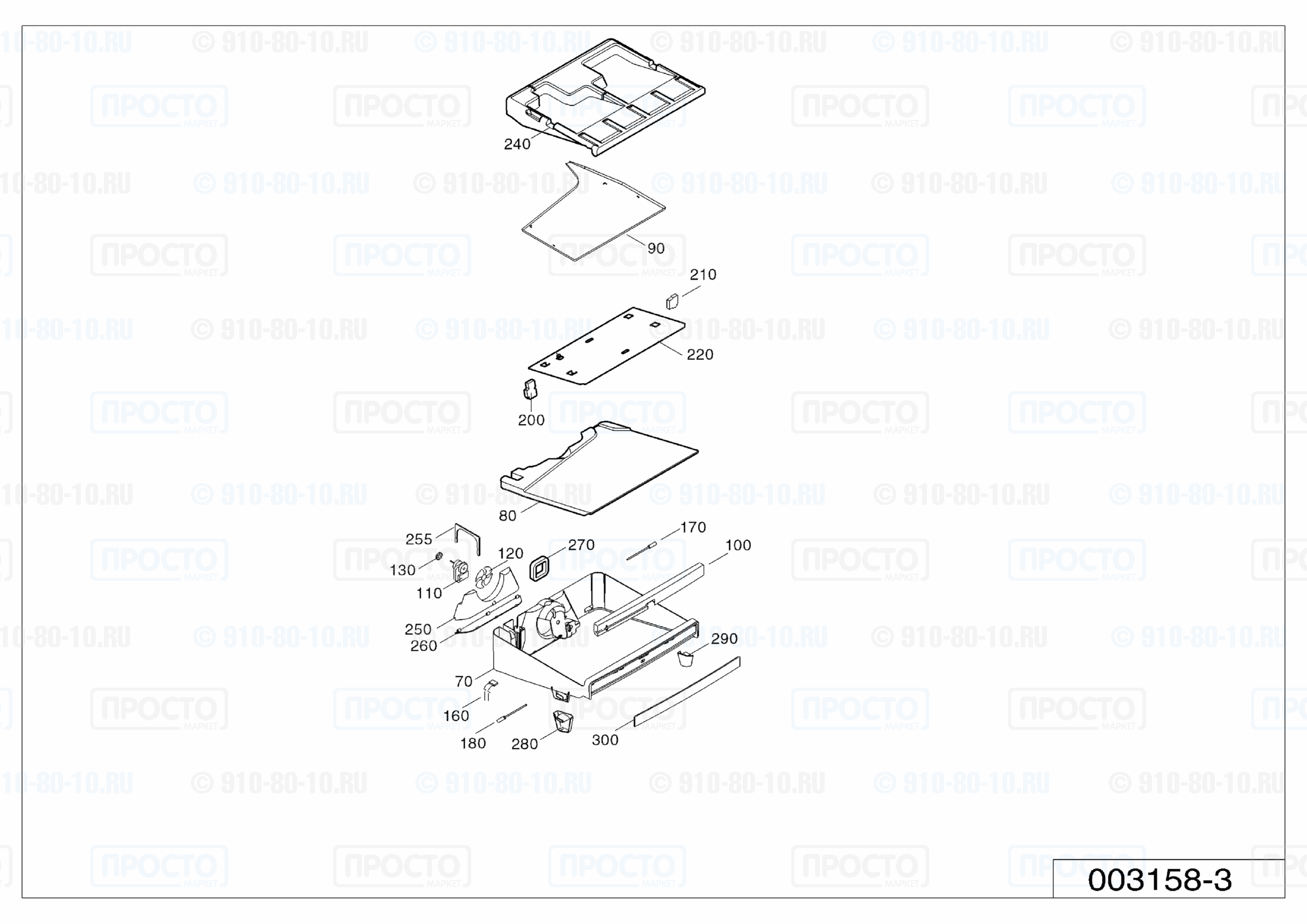 Взрыв-схема холодильника Liebherr B 2756-21
