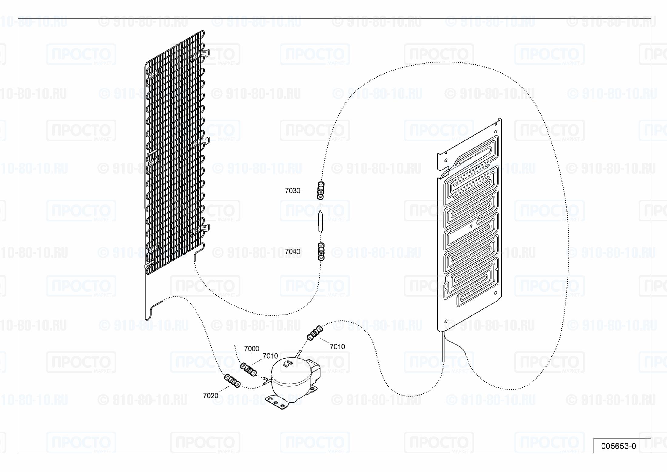 Взрыв-схема холодильника Liebherr MCsl 3613-42C